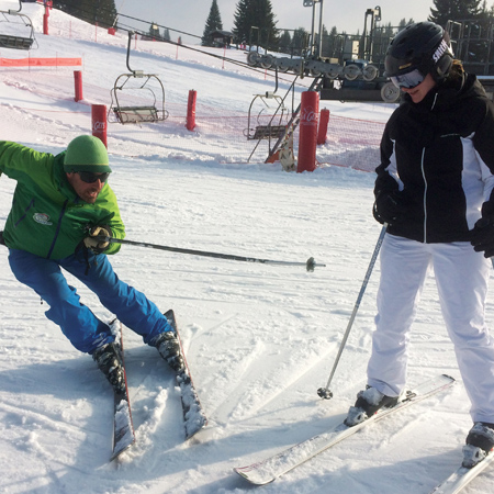 Advanced ski lessons Morzine - Avoriaz
