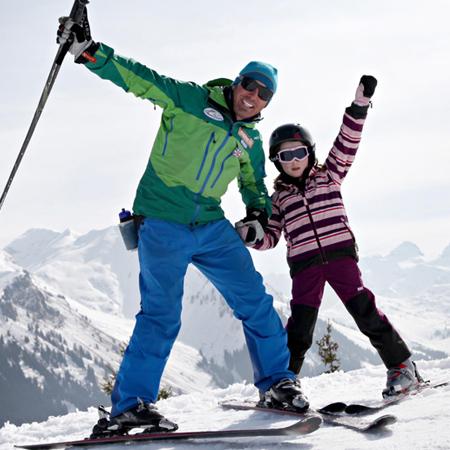 Ski lesson levels