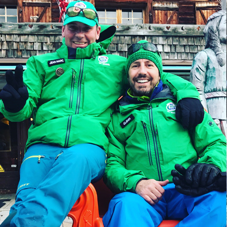English speaking ski instructors