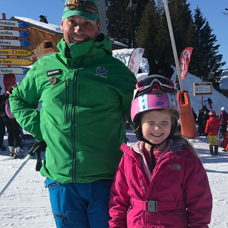 Avoriaz Ski Instructor Jean Marc
