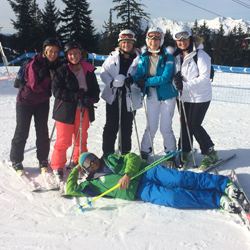 Corporate ski guide / lessons