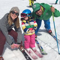 Parent Child Ski Lessons
