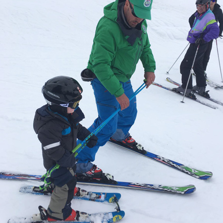 Children's Beginner Ski Lessons