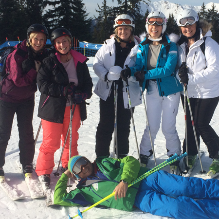 Corporate Ski Instructor Hire