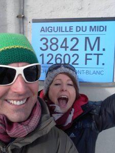 Aiguille du Midi day out
