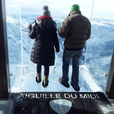 Aiguille du Midi Chamonix Glass Floor