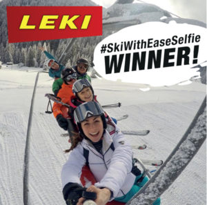 Ski With Ease Leki UK Selfie Competition
