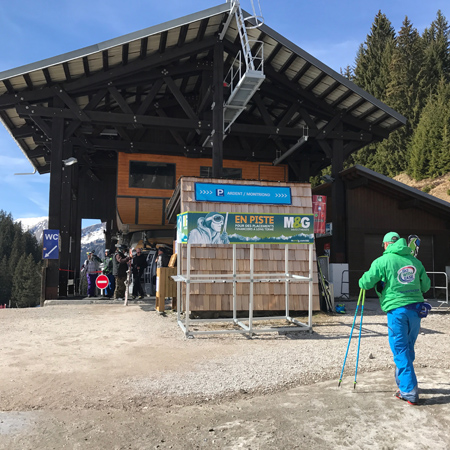 Avoriaz Ski and Snowboard School Meeting Point