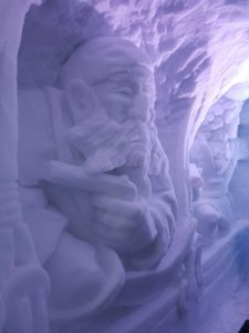 Igloo Ice Bar Avoriaz Ice Sculptures