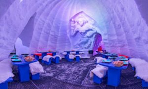 igloo ice bar Avoriaz restaurant