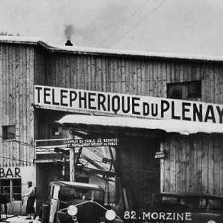 Morzine Pleney Telecabine History